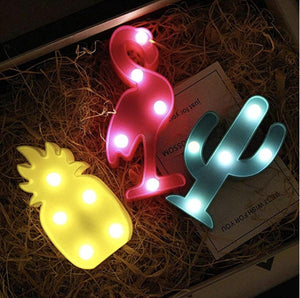 Mini Marquee Light - Flamingo-HOME ACCESSORIES-PropShop24.com