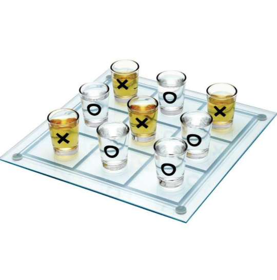 Tic Tac Toe Drinking Game-BAR + PARTY-PropShop24.com