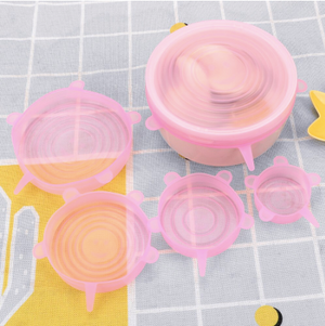 Reusable Silicone Lid Cover - Set Of 6-DINING + KITCHEN-PropShop24.com