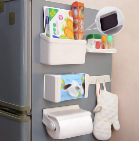 Magnetic Fridge Storage Rack - Set Of 5-DINING + KITCHEN-PropShop24.com