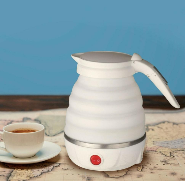 Electric Foldable Kettle - White-DINING + KITCHEN-PropShop24.com