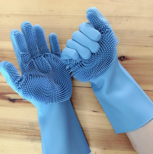 Silicone Rubber Gloves - Assorted-DINING + KITCHEN-PropShop24.com