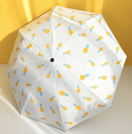 Foldable Printed Umbrella - Pineapple-PropShop24.com