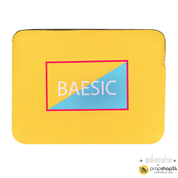 Laptop Sleeve - Baesic - Yellow-Gadgets-PropShop24.com