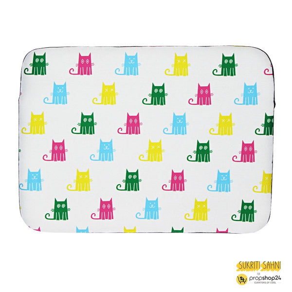 Laptop Sleeve - Cats - White - propshop-24 - 1