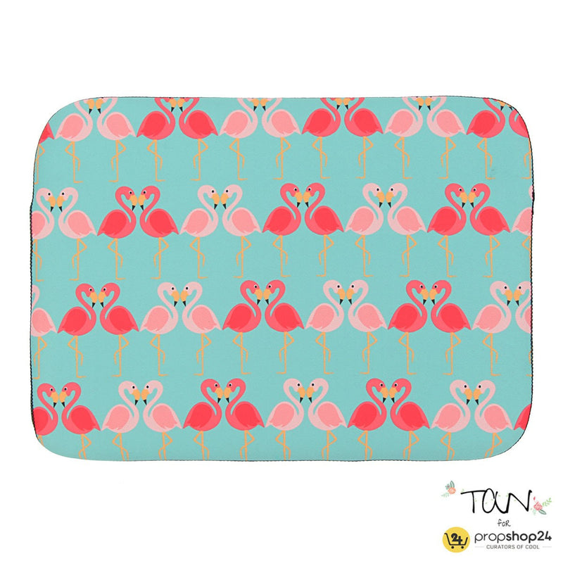 Laptop Sleeve - Flamingo-LAPTOP SLEEVES-PropShop24.com
