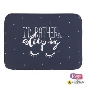 Laptop Sleeve - I'D Rather Be Sleeping-LAPTOP SLEEVES-PropShop24.com