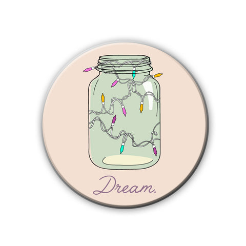 Magnet / Badge - Mason Jar