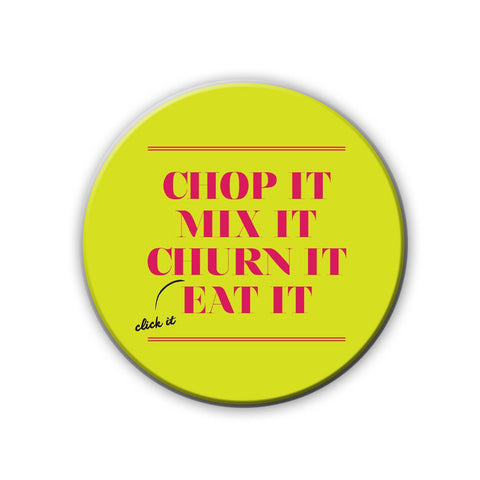 Magnet / Badge - Just Eat It