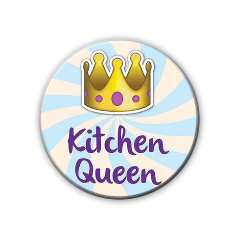 Magnet / Badge - Kitchen Drama queen