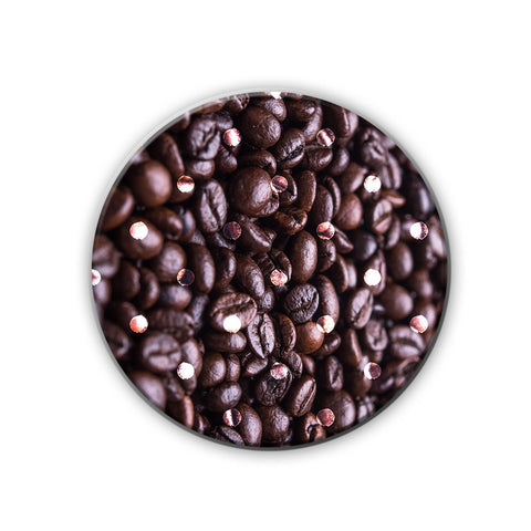 Magnet / Badge - Coffee Bean