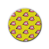 Magnet / Badge - Rolling Lips-Home-PropShop24.com