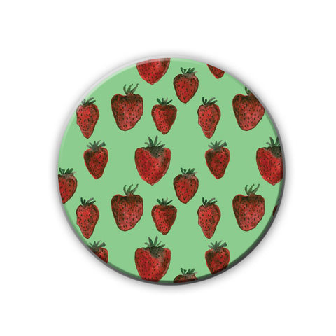 Magnet / Badge - Strawberry