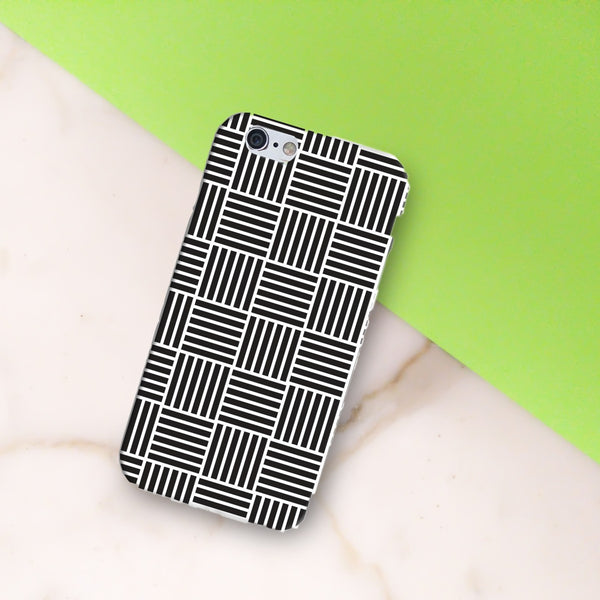 Black and White Pattern Phone Case - propshop-24 - 1