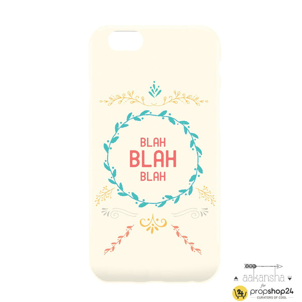 Blah Phone Case - propshop-24 - 2