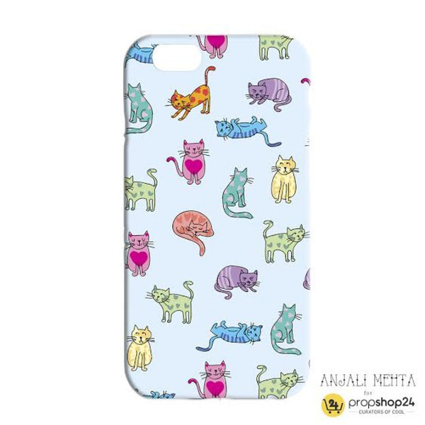 Colourful Cats Phone Case - propshop-24 - 2