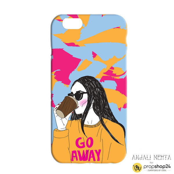 Go Away Phone Case - propshop-24 - 2