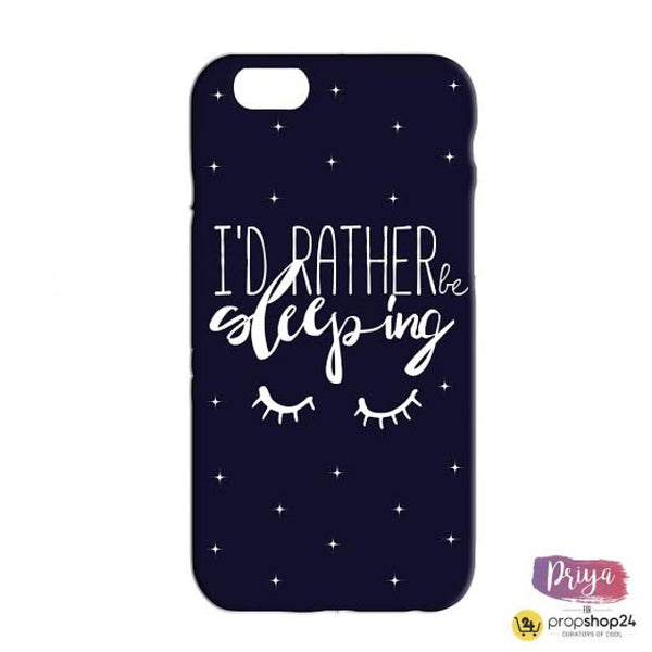I'd Rather Be Sleeping Phone Case - propshop-24 - 2