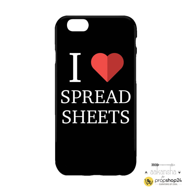 Spread Sheets Phone Case - propshop-24 - 1