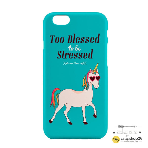 Too Blessed To Be Stressed Phone Case - propshop-24 - 2