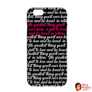 The Greatest Love Phone Case-PHONE CASES-PropShop24.com