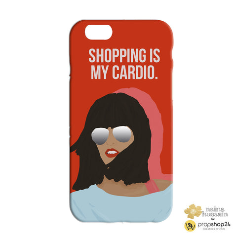 Shopping is my cardio Phone Case - propshop-24