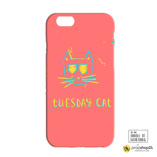 Tuesday Cat Phone Case - propshop-24