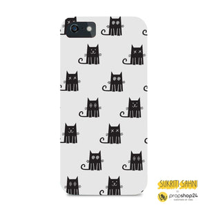 Black Cats With White Background - Phone Case-PHONE CASES-PropShop24.com