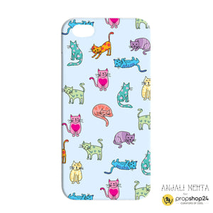 Colourful Cats Phone Case-PHONE CASES-PropShop24.com