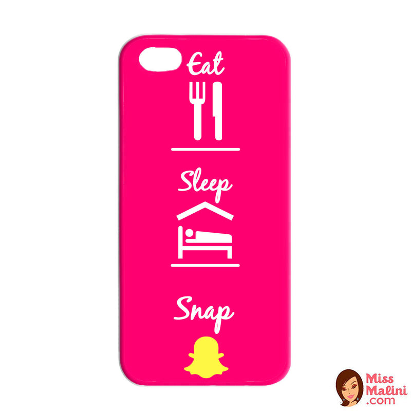 Eat Sleep Snap Pink Phone Case-PHONE CASES-PropShop24.com