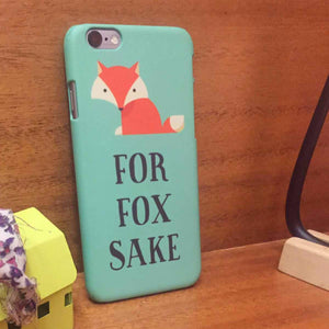 For Fox Sake Phone Case-PHONE CASES-PropShop24.com