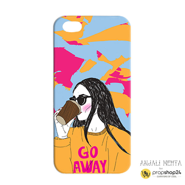 Go Away Phone Case - propshop-24 - 1