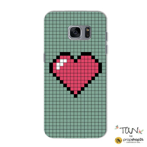 Pixel Heart Phone Case-PHONE CASES-PropShop24.com