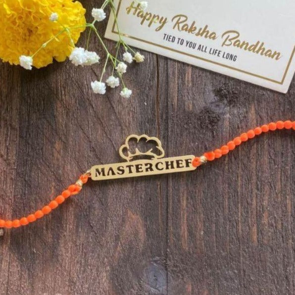 Rakhi - Master Chef - Yellow Gold-PropShop24.com