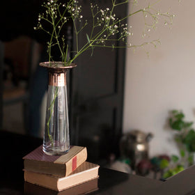 Vase - Rose Gold - Long-HOME-PropShop24.com