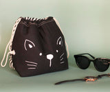 Drawstring Organiser - Cat-FASHION-PropShop24.com