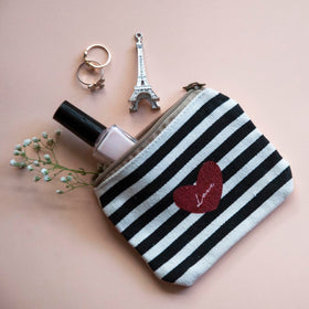 Coin Pouch - Stripe Love-FASHION-PropShop24.com