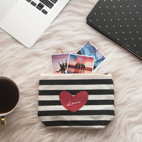 Travel Pouch - Stripe Love-FASHION-PropShop24.com