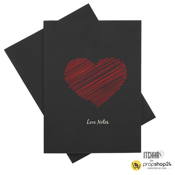 Notebook - Love Notes - propshop-24 - 1