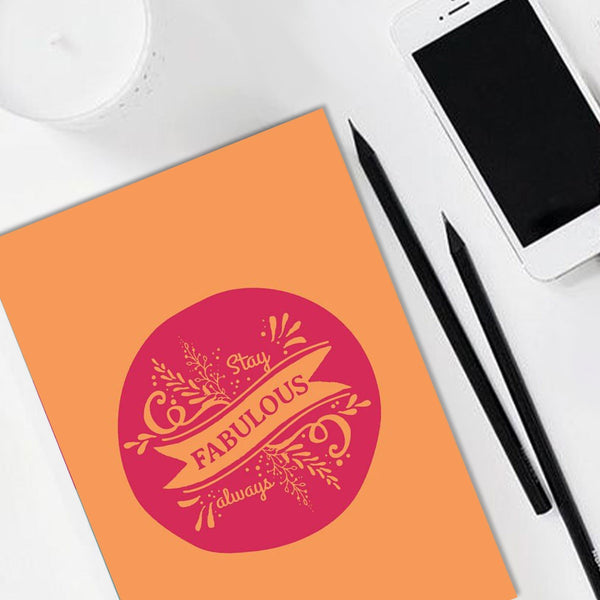 Notebook - Stay Fabulous - propshop-24 - 1