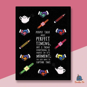 Perfect Timing Diary-Stationery-PropShop24.com
