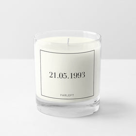 Candle - Personalised - Date - COD Not Available-HOME-PropShop24.com