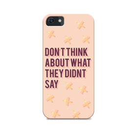 Phone Case - Don't Think-GADGETS-PropShop24.com