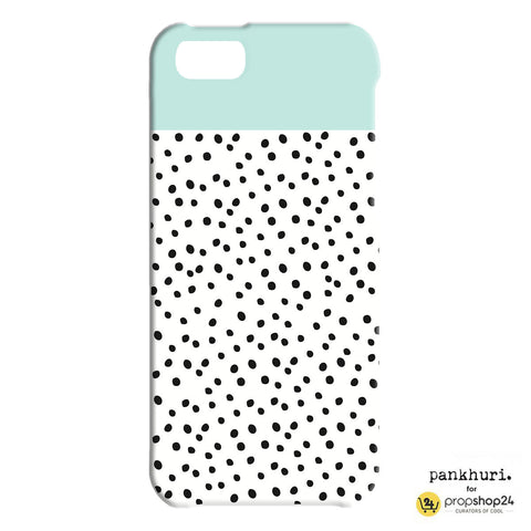 Phone Case - Aqua Polka-Phone Cases-PropShop24.com