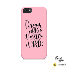 Phone Case - Dream Big, Hustle Hard-Gadgets-PropShop24.com