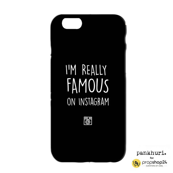 Phone Case - I'M Really Famous On Instagram-Phone Cases-PropShop24.com