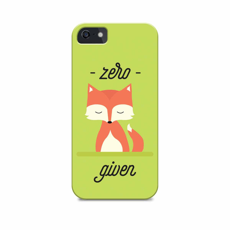 Phone Case - Zero Fox Given-PHONE CASES-PropShop24.com