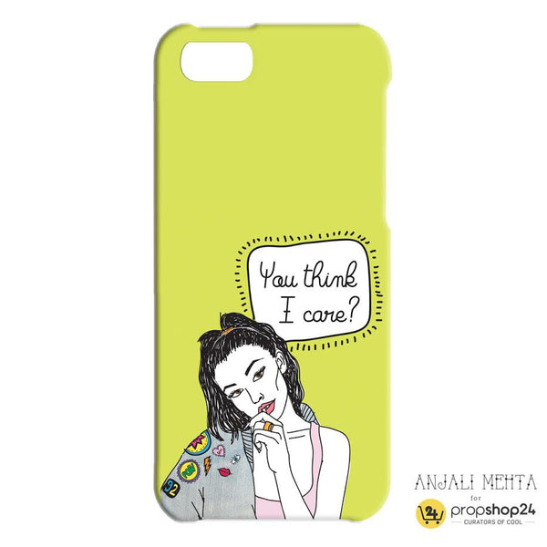You Think I Care Phone Case - propshop-24 - 2