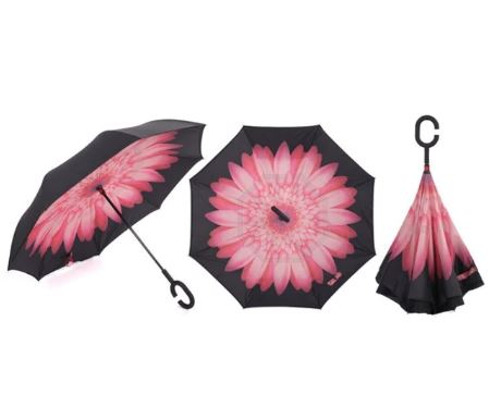 Handsfree Umbrella Printed-TRAVEL ESSENTIALS-PropShop24.com
