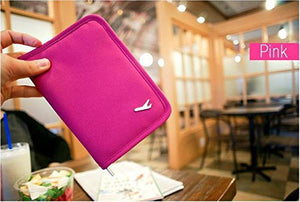 Passport Cover - Airplane - Pink-TRAVEL ESSENTIALS-PropShop24.com
